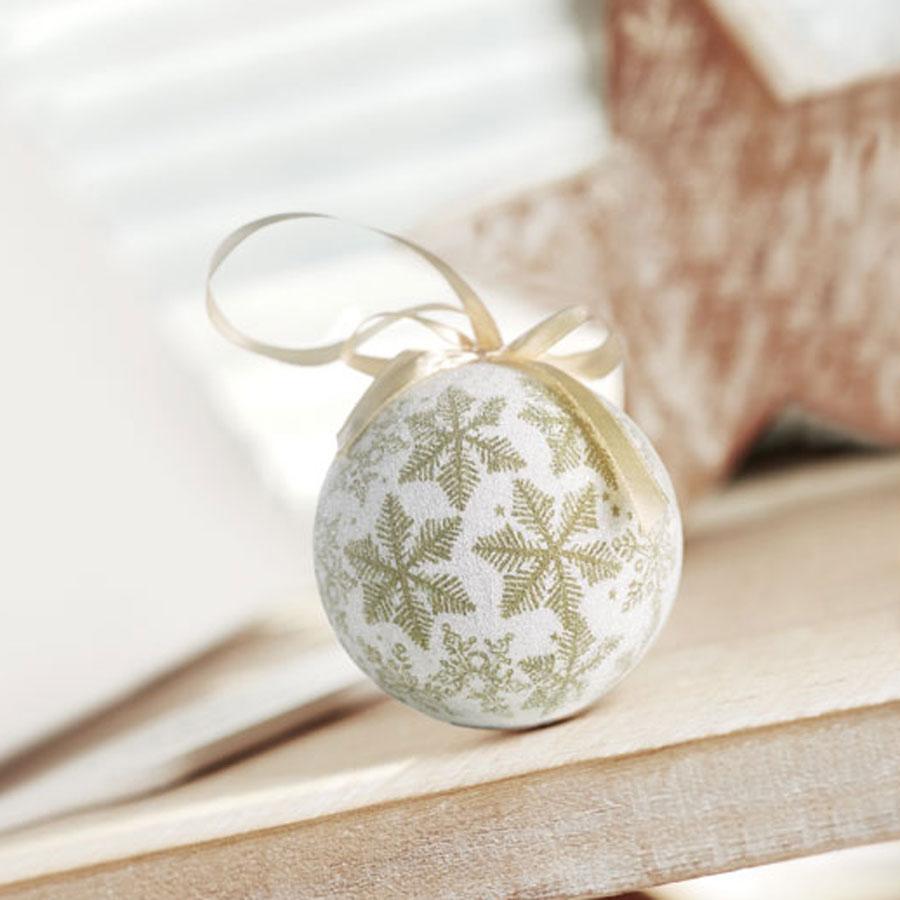 Χριστουγεννιάτικη Μπάλα Περλέ 8033