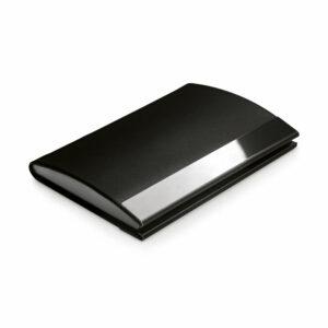 Θήκη Επαγγελματικών Καρτών Manager από μέταλλο και δερματίνη